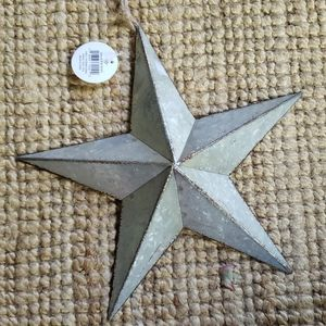 Accents - NWT Galvanized Metal Star